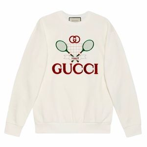 NWT Gucci Oversized Sweatshirt With Gucci Tennis